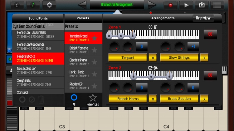 SoundFont Pro for iPhone