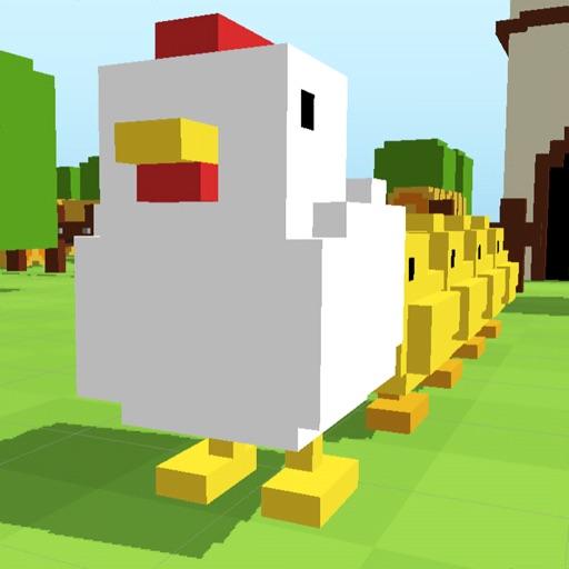 Crossy Chicken Kids Road Games