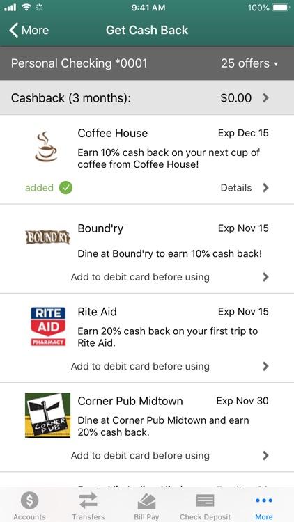 Triangle CU Mobile Banking screenshot-6