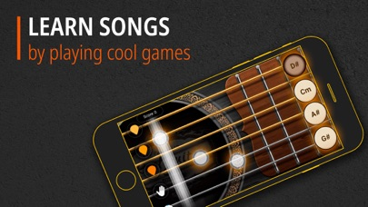 Screenshot for Guitar - Chords, Tabs & Games in Qatar App Store