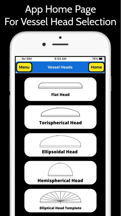 Pressure Vessel Heads Pro screenshot 1