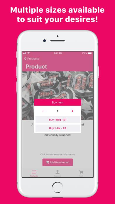 Sugar Fix - Online Sweet Shop screenshot three