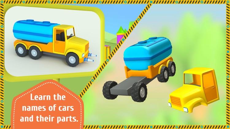Leo the Truck and Cars Game screenshot-3