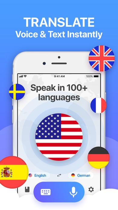 Voice Translator App. app image