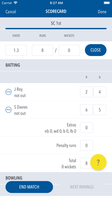 Play-Cricket Scorer screenshot four