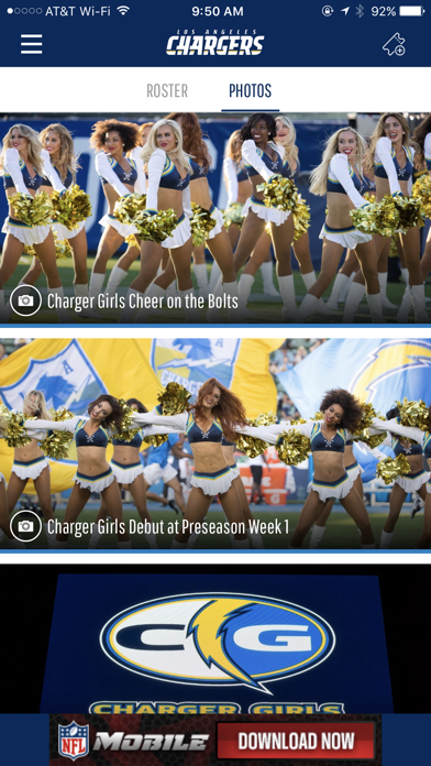 Los Angeles Chargers screenshot three