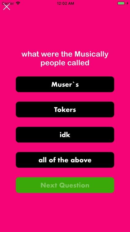 Fans For Tik Tok Quiz