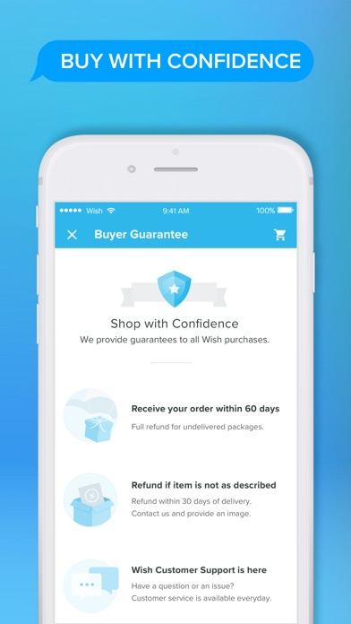 Screenshot for Wish - Οι αγορές έγιναν διασκέ in Greece App Store