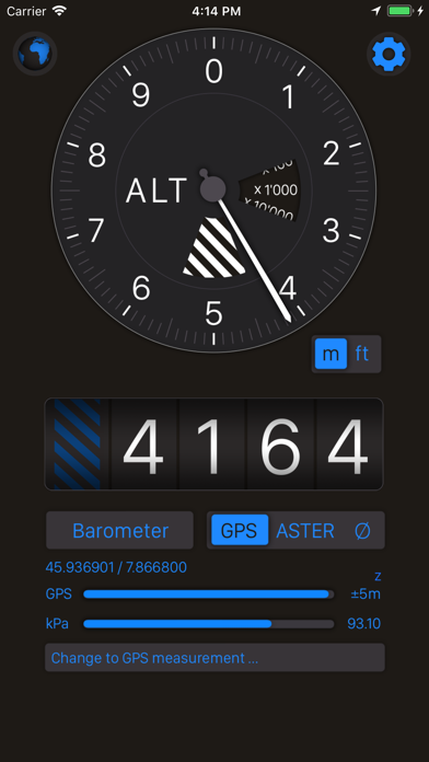 Altimeter+ Screenshots