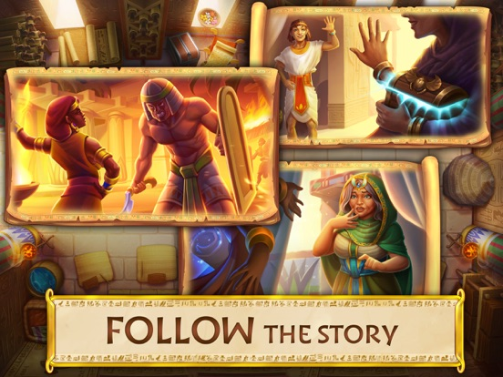 Jewels of Egypt: Match Game screenshot 12