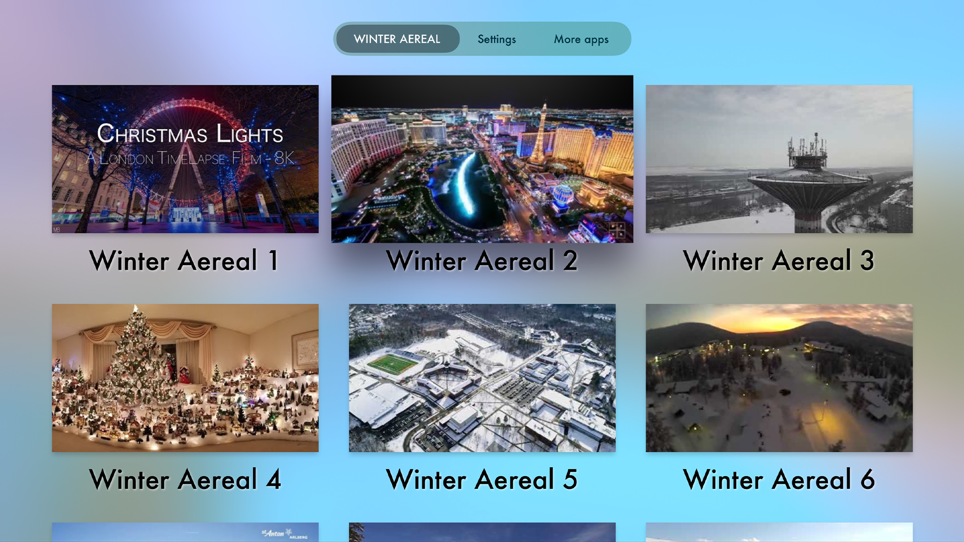 Winter Aereal screenshot 1