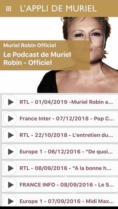 Screenshot #2 pour Muriel Robin