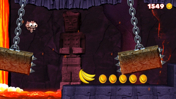 Dare the Monkey: Go Bananas! screenshot-0