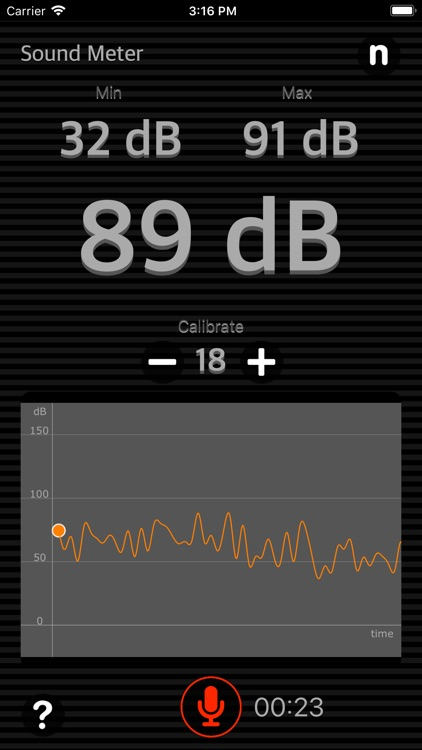 Sound Meter Plus screenshot-1