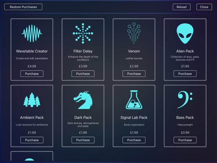 Scythe Synthesizer screenshot-4