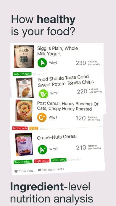 Fooducate - Lose Weight, Get Motivated, and Eat Healthier screenshot