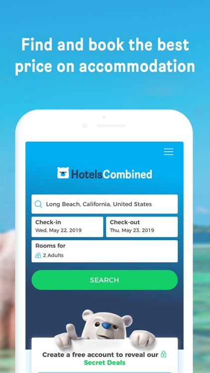 HotelsCombined: Hotel Search