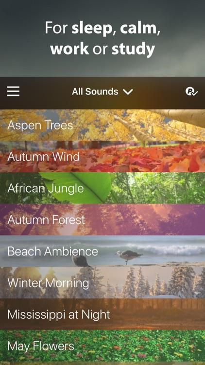 Rain Rain Sleep Sounds screenshot-5