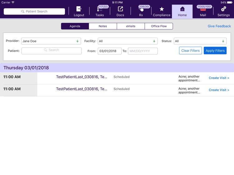 modmed Practice Sandbox screenshot-3