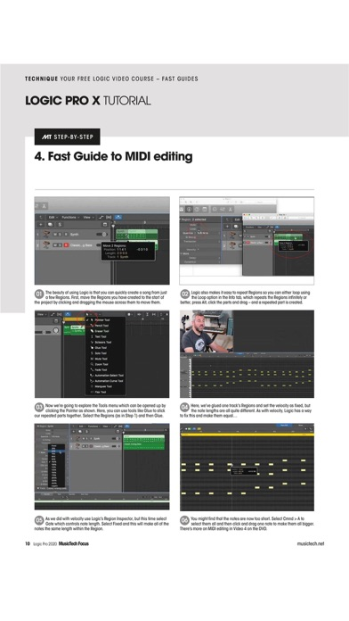 MusicTech Focus Magazine Screenshot