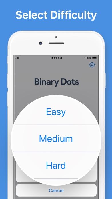 Binary Dots - Logic Puzzles screenshot 3