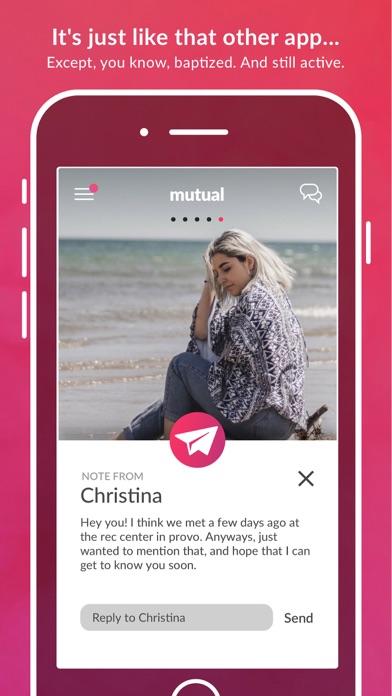 Mutual - LDS Dating Screenshot