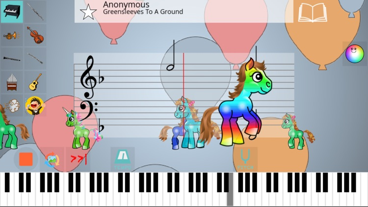 Pony Piano MIDI by Sylvain Nowe