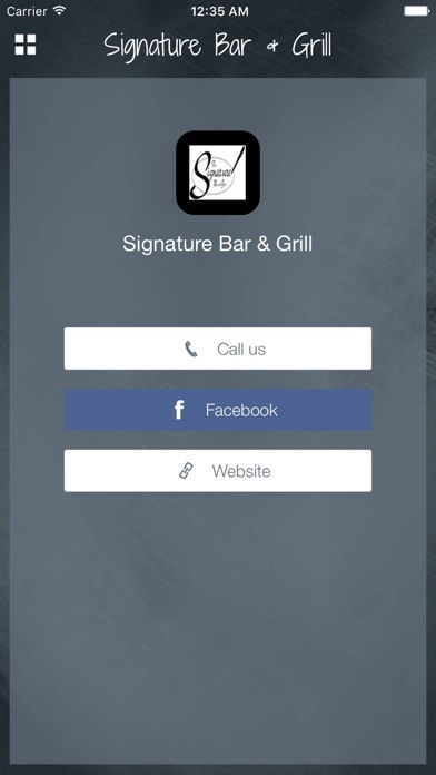 messages.download Signature Bar & Grill software