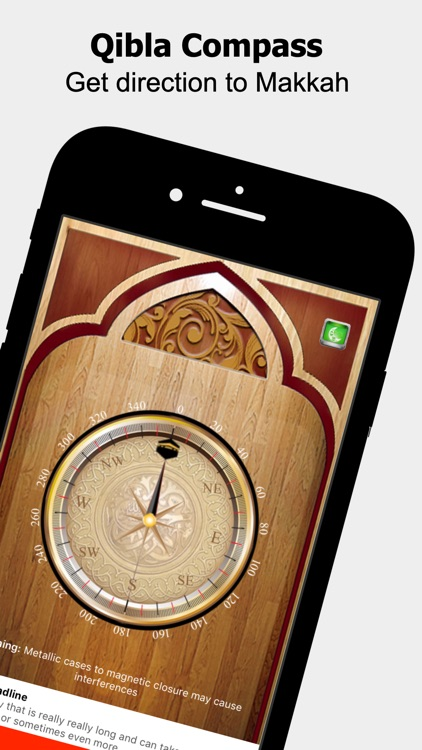 Islamic Qibla Pro screenshot-0