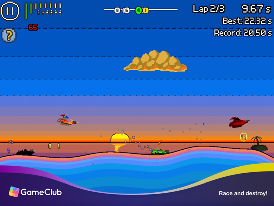 Pixel Boat Rush - GameClub screenshot 6