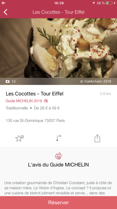 Screenshot for Guide MICHELIN Europa 2019 in Germany App Store