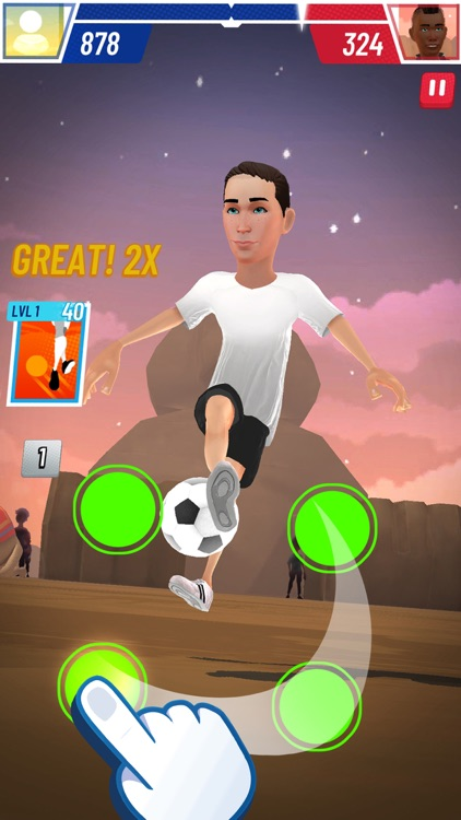 PSG - Football Freestyle screenshot-5