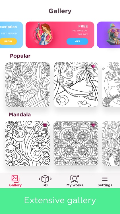 Colorful: adult coloring book
