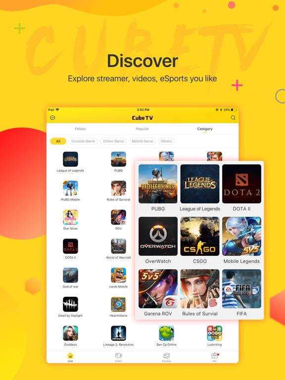 Cube TV – Live Games Community screenshot 11