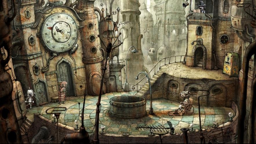 机械迷城 (Machinarium) App 截图