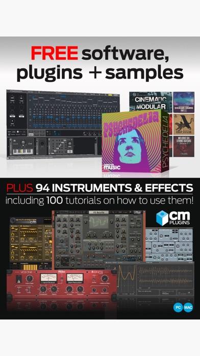 Computer Music Magazine review screenshots