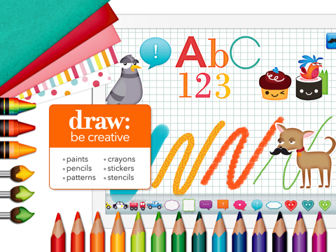 Draw and Tell HD - náhled