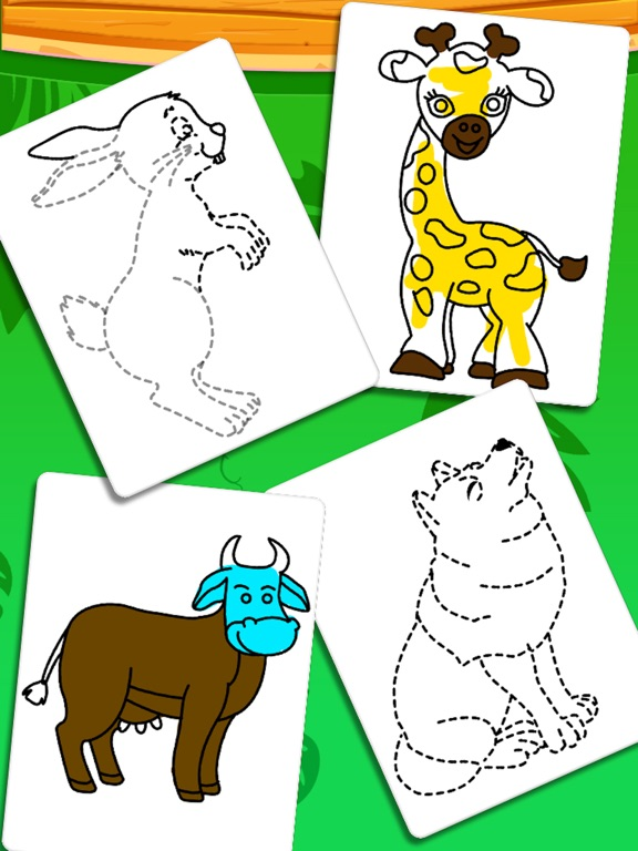 Coloring And Drawing Animals screenshot 6
