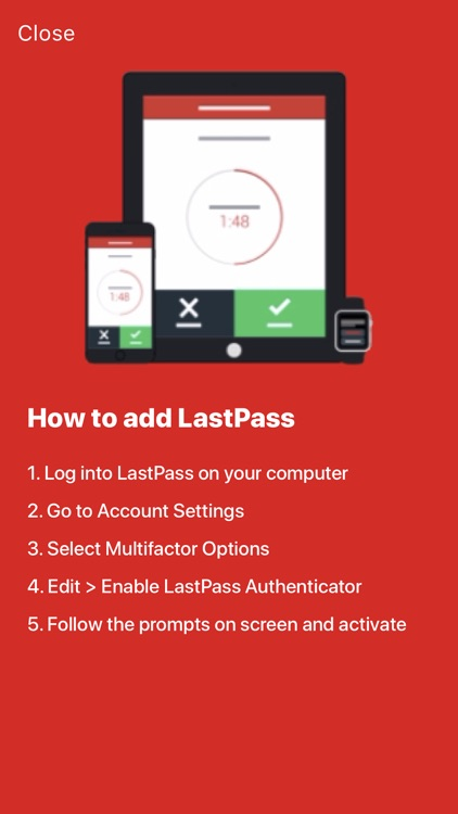 LastPass Authenticator screenshot-4
