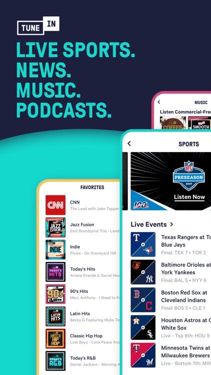 TuneIn - NBA Radio & Live News screenshot-6