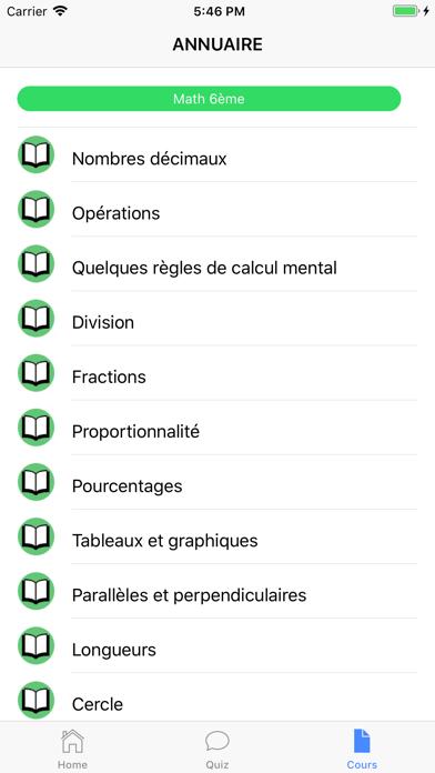 Cours de Maths screenshot 6