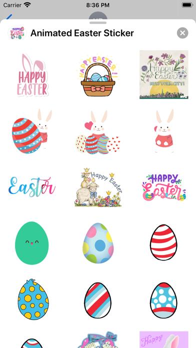 Animated Easter Sticker screenshot 2