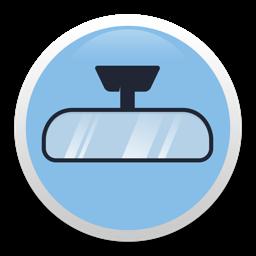 Ícone do app Rearview - handy mirror camera