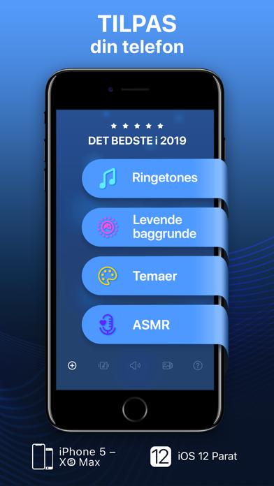 Screenshot for Ringetoner & Levende Baggrunde in Denmark App Store