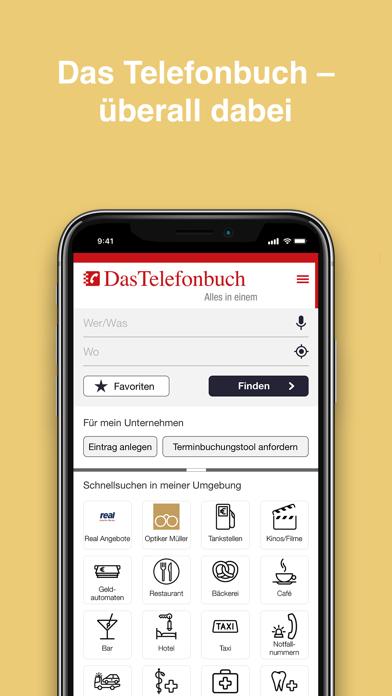 Das Telefonbuch: mobile GuideScreenshot von 8