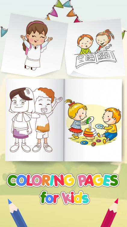 Coloring Pages – Drawing Games