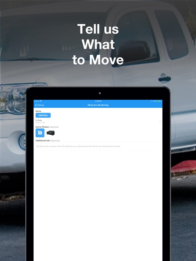 GoShare: Deliver, Move & Haul on the App Store