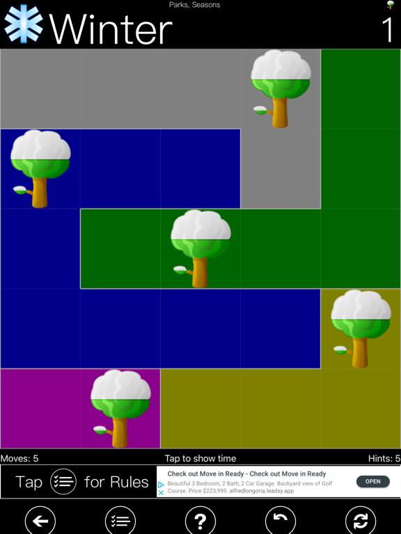 Parks Seasons - FREE Brain Teaser Logic Game screenshot