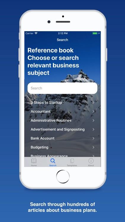 Business Plan for Startups screenshot-3