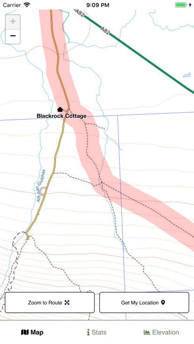 West Highland Way Map screenshot 4